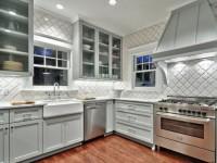 Плитка на стенах кухни — варианты отделки и сочетания (100 фото)