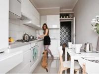Узкая кухня — идеальная планировка и принципы узкого дизайна в кухне (90 фото)