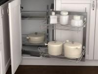 Выдвижные системы для кухни — функциональность и практичность (70 фото идей)