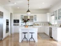 Кухня белого цвета — фото реального дизайна белой кухни в разных стилях