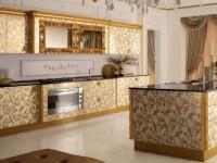 Кухня золотого цвета — советы идеальной отделки золотистой кухни (55 фото дизайна)