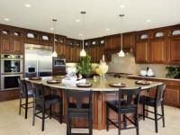 Кухня с островом — обзор эффективной планировки и дизайна (105 фото)