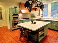 Пол на кухне — интересные факты и рекомендации по дизайну пола в кухне (70 фото)