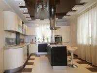 Потолок из гипсокартона на кухне — преимущества и недостатки (85 фото дизайна)