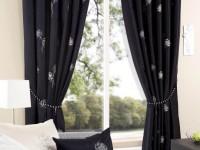 Черно-белые шторы: примеры идеального сочетания в интерьере (99 фото)