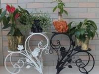 Стойки для цветов: ТОП-100 фото новинок дизайна
