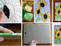 Картины из ткани — как создать своими руками? Инструкция идеями на фото!