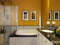 Потолок в ванной комнате — варианты идеального сочетания в интерьере (105)