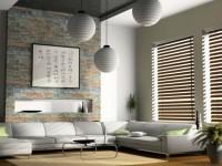 Шторы жалюзи в современном интерьере квартиры — 105 фото новинок дизайна
