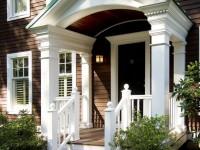 Крыльцо для частного дома — красивый и современный дизайн (100 фото)