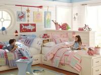 Дизайн интерьера детской комнаты для разнополых детей (100 фото)
