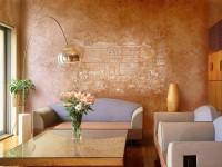 Декоративная штукатурка стен своими руками: инструкция и советы