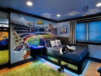 Идеи дизайна комнаты для мальчика-подростка в современном стиле (90+ фото)