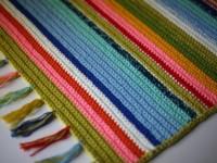 Как связать крючком коврик для дома: описание и схемы