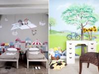 Какие нарисовать рисунки на стенах в квартире своими руками