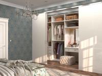 Спальня с гардеробной: практичные варианты и готовые идеи (100+ фото)