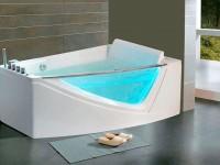 Идеи угловой ванной в интерьере ванной комнаты (70+ фото)
