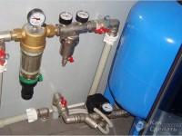Установка мембранного бака для водоснабжения