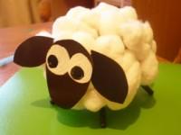 Поделка овечка своими руками