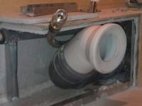Как спрятать горизонтальные трубы в ванной?