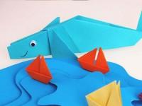 Поделка кит для детей