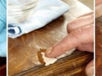 Как отреставрировать столешницу на кухне из ДСП?
