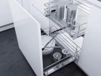 Выдвижные механизмы для кухонной мебели