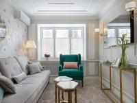 Как поставить мебель в узкой длинной комнате?