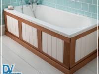 Чем закрыть нишу под ванной?