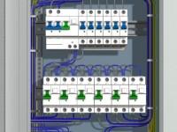 Распределительный щит для электропроводки в квартире