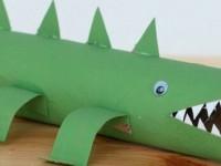 Крокодил поделка для детского сада