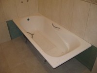 Как сделать короб из плитки в ванной?