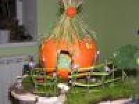 Домик из тыквы своими руками: поделка с пошаговым фото