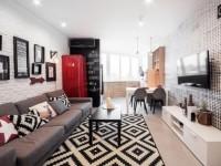 Варианты расстановки мебели в прямоугольной комнате