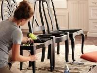 Как декорировать старый стул?