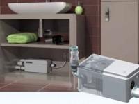 Насос для слива воды из душевой кабины