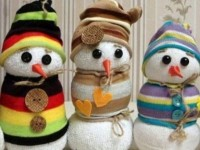 Зимние поделки в детский сад