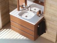 На какой высоте вешается раковина в ванной?