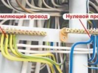 Сечение кабеля для заземления частного дома