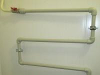 Подключение полотенцесушителя полипропиленовыми трубами
