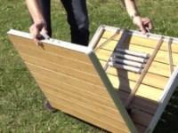 Самодельный складной столик для пикника своими руками