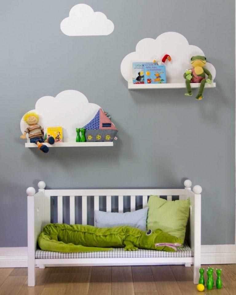 Облака своими руками в детской комнате