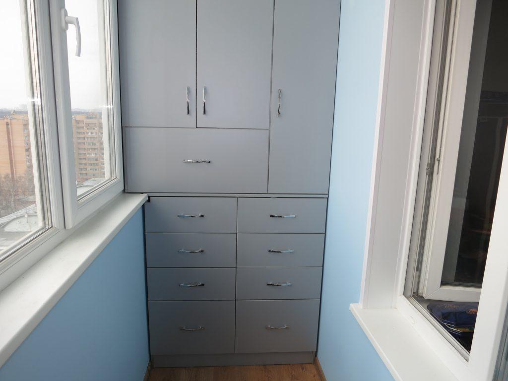 Фото встроенных шкафов для балкона и лоджии inside шкафы 73 .