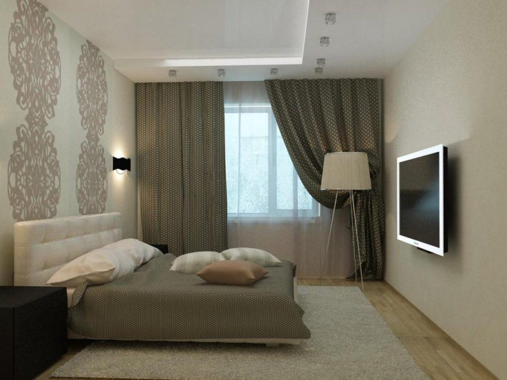 Интерьер спальни 15 кв м фото