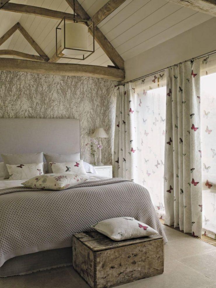 Спальня в стиле лофт