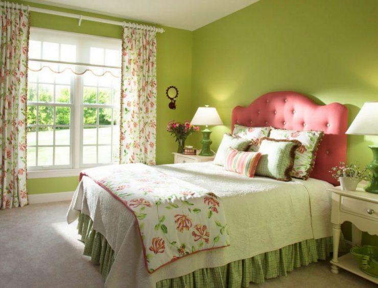 Сочетание цвета в спальне 223