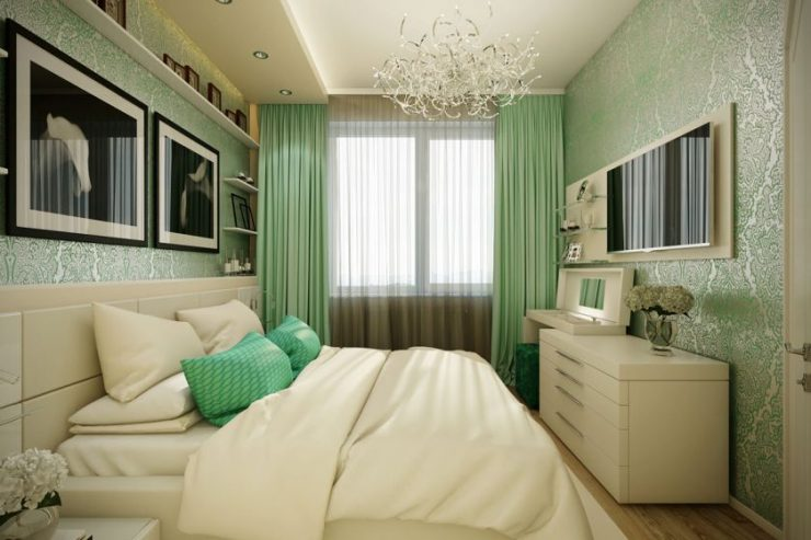 Bedroom 13 sq. m. 40