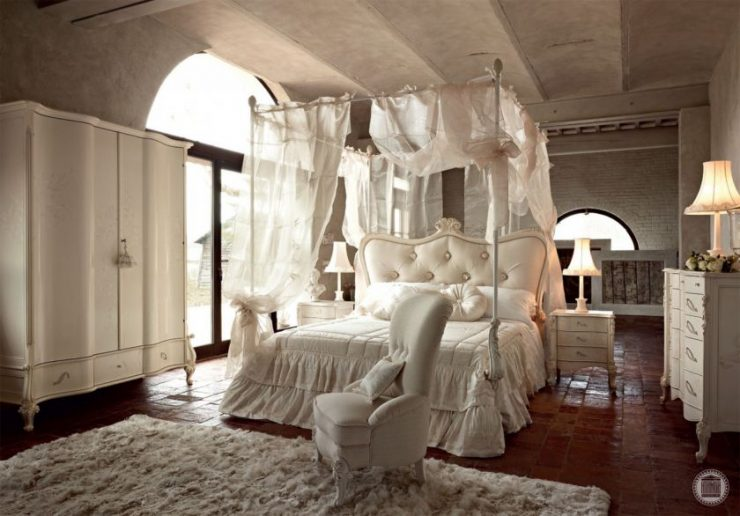 Белая спальня 000