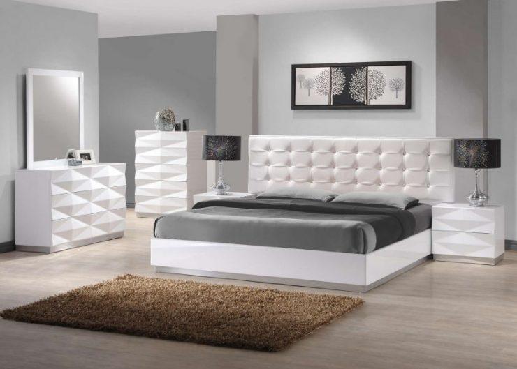 Белая спальня 23