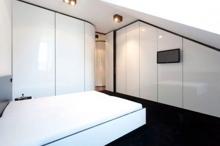 Белая спальня 19